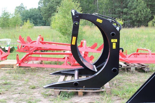 Chwytak do drewna XL powiększony bali kłód do ładowarki ATMP