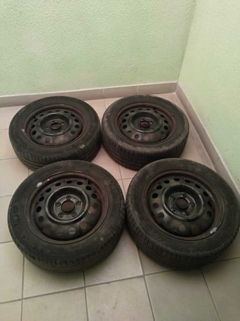 Колеса в зборі, шини Michelin 205/55 R16, диски 5х114,3 6jx16 ET 51