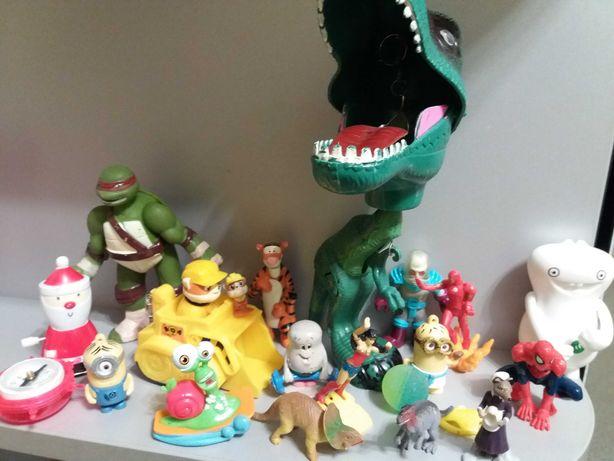 Пакет лот набор игрушек мальчику герои мультиков