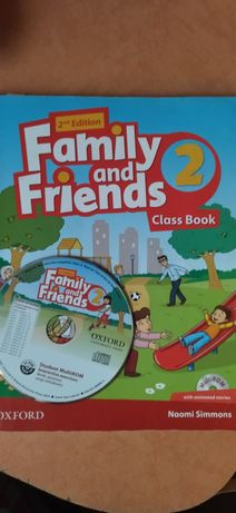 Family and Friends 2, 4 друге видання + WB