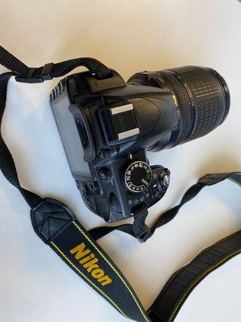 Nikon D3100, 18-105 mm