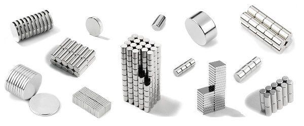 Неодимовые магниты,большой выбор размеров.