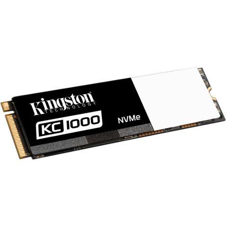 SSD Kingston KC1000 480GB NVMe M.2 (Флеш-память MLC). На гарантии!!!