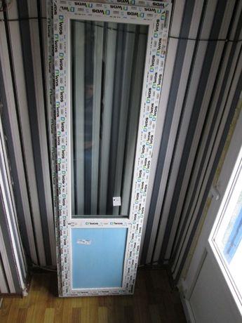 Металлопластиковая дверь (балкон)