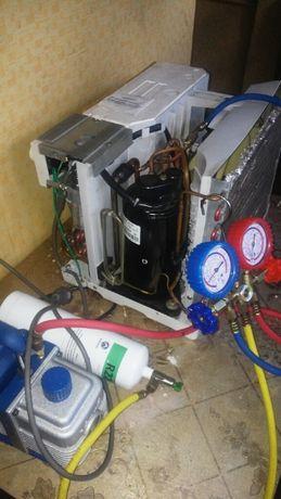 Ремонт холодильников и оконных кондиционеров всех марок