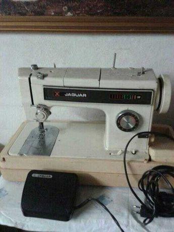 maquina costura portatil jaguar com discos bordar,troca tlm ou tablet