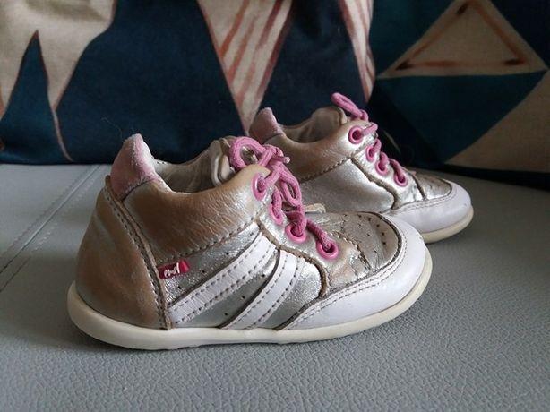 Buty dziewczęce skórzane Emel rozm. 20