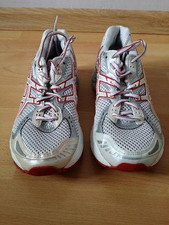 białe damskie buty do biegania Asics rozmiar 37,5