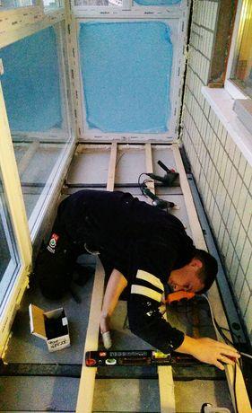 Балкон под ключ. Обшивка (ремонт, утепление) балконов и лоджий.