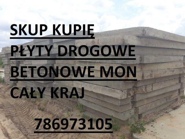 Płyty drogowe betonowe MON S.K . U.P