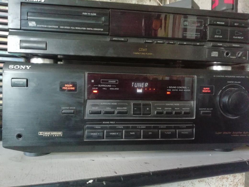 Amplifier Sony 5.1 ta-av561