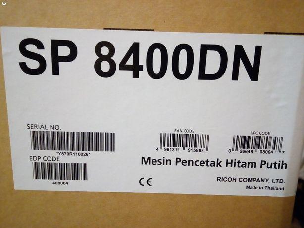 Высокоскоростной ч/б принтер А3 формата Ricoh SP8400DN