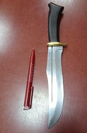 Nóż myśliwski, robiony na zamówienie. Ostrze-18cm, rękojeść - 12cm