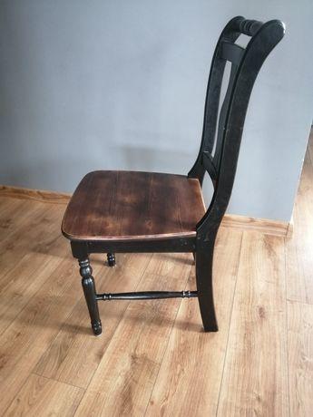 Drewniane krzesło krzesła