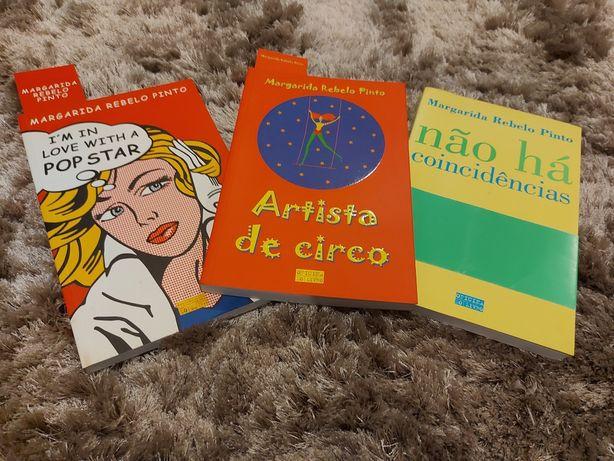 3 livros Margarida Rebelo Pinto