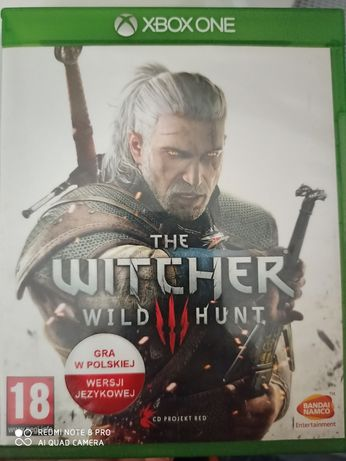 Gra Witcher xbox one