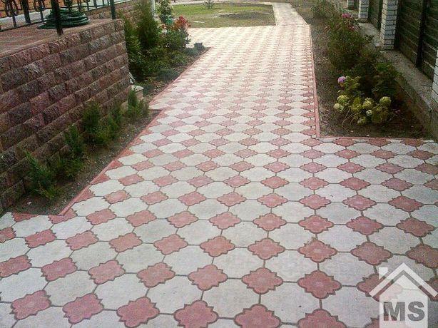 Тротуарная плитка и укладка тротуарной плитки