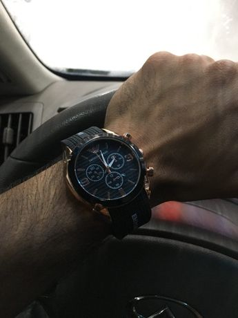 Мужские часы Emporio Armani спортивно-классические (Новые