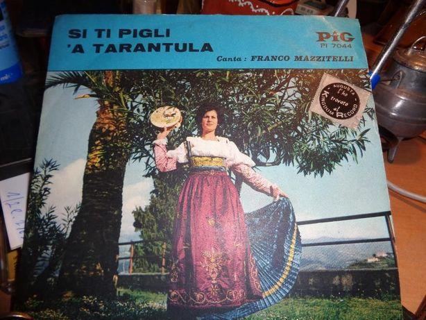 Disco Single A Tarantula canta Franco Mazzitelli usado