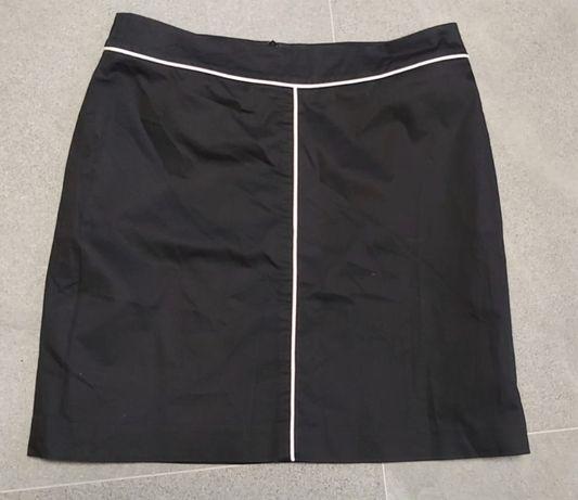 Elegancka czarna spódniczka mini MORE&MORE rozm. 38
