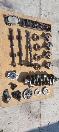 Tłok, korbowód, blok, wałek rozrządu, silnik DPS 4045 TRT john deere