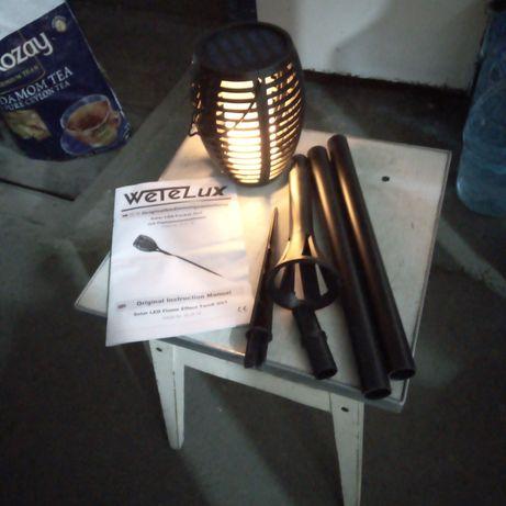 Декор - факел для дачи, ресторана