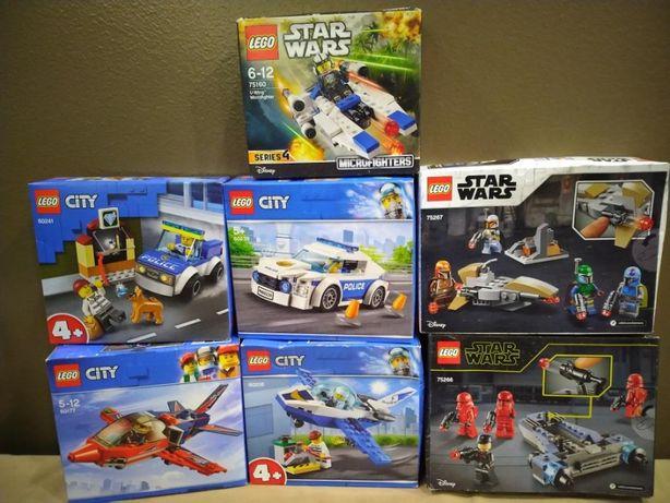 Lego Star Wars 75266, 75160, City 60239, 60241, 60177, 60206
