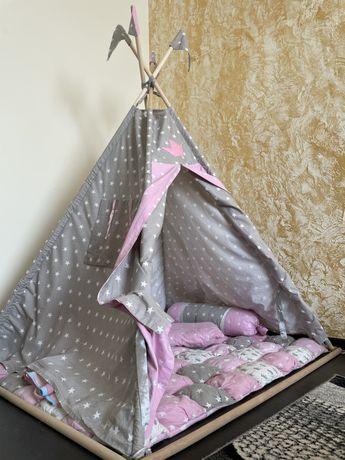 Детская палатка-вигвам
