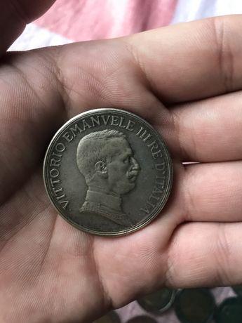 Итальянская монета 1914 г