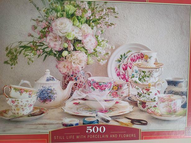 Puzzle 500 porcelana