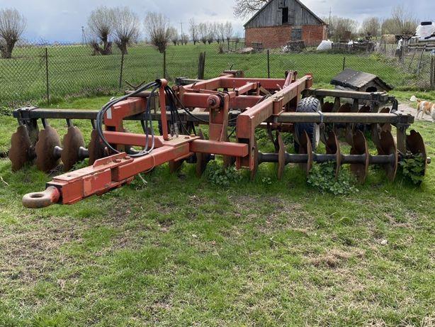Talerzówka Jean Bru 4,5m V, Głębosz Expom, Brony zawieszane hudraulicz
