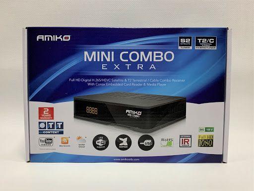 Receptor de Satélite/Cabo - Amiko Mini Combo Extra