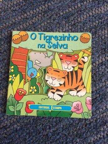 Livro «O Tigrezinho na Selva»