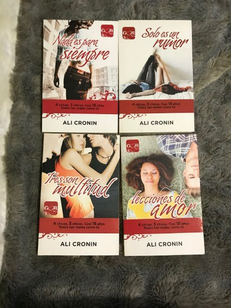 Livros Ali Cronin (espanhol)