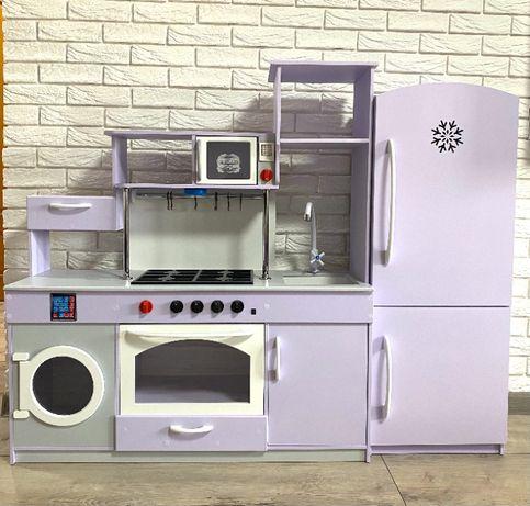 Кухня детская + холодильник! Лучший подарок ребенку! В НАЛИЧИИ!
