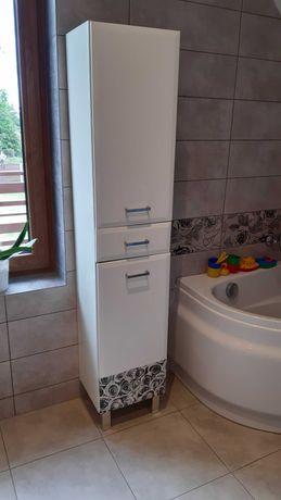 Szafka łazienkowa, słupek biały 173cm