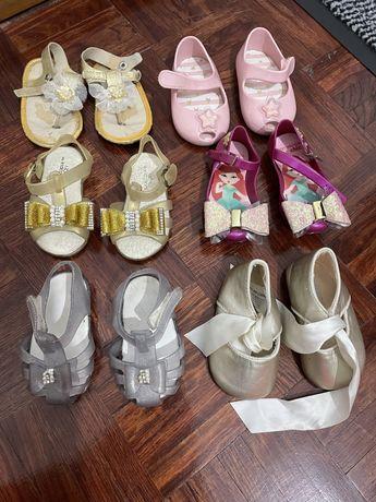 Sandalias de verao.