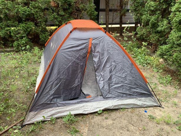 Namiot z przedsionkiem 4 osobiwy 200x240 cm turystyczny