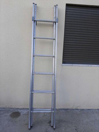 Escada de Abrir em Alumínio