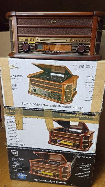 Zestaw 4 Gramofonów Dual Nr 4 Gramofon Retro DAB+