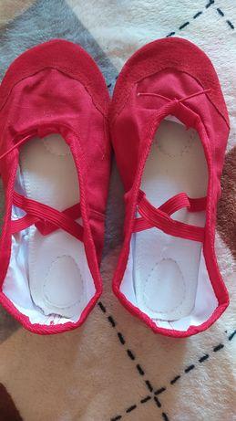 Новые красные балетки, стелька 22 см, 37-38 р