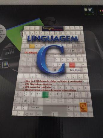 Livro Linguagem C de Luis Damas COMO NOVO