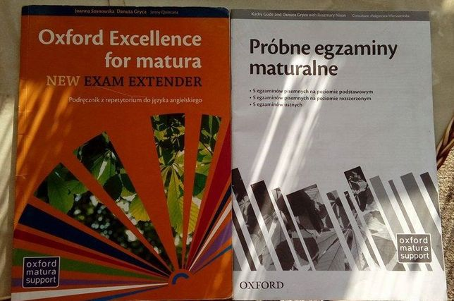 Oxford Excellence for matura. New Exam Extender