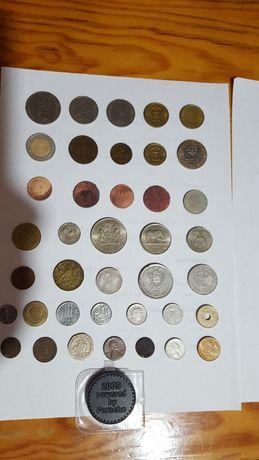 Diversas moedas