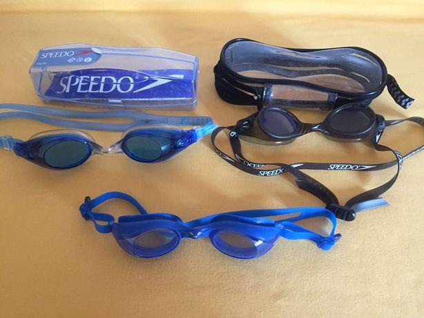 Oculos de natação Arena e Speedo