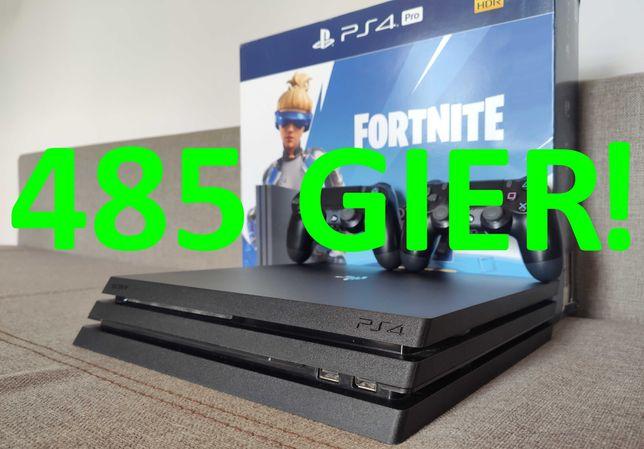 485 GIER!!! FIFA21! Minecraft! FORTNITE 5 Konsola PS 4 Pro PlayStation