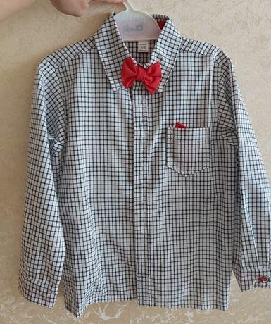 Рубашка на кнопках р. 104