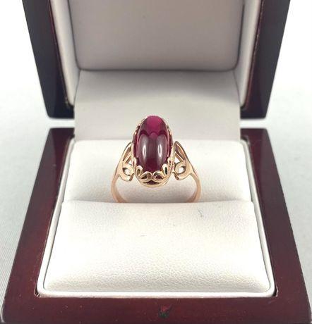 Przeuroczy ZŁOTY pierścionek PR.585 (14K),rozmiar 18