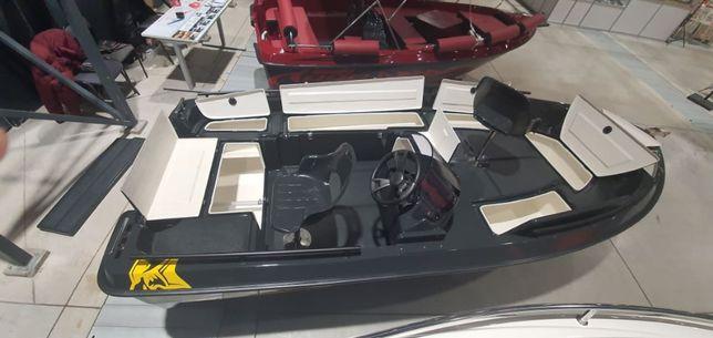 Łódka łódki łodzie wiosłowa motorowa ka-boats 440 BASS