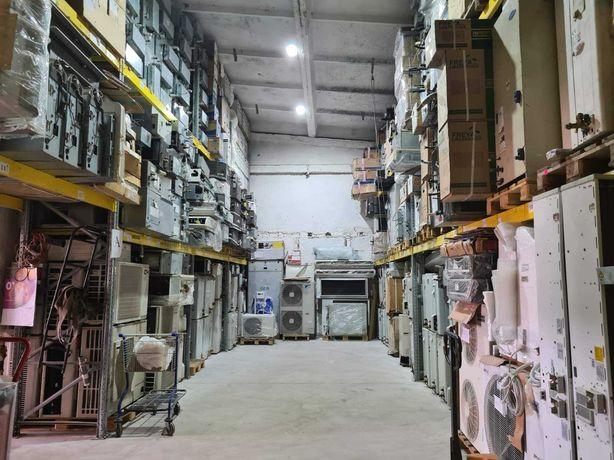 Инверторные кондиционеры/тепловые насосы БУ гарантия склад